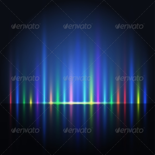 GraphicRiver Abstract Color Light Lines 8465088