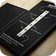 Creative Black Business Card - GraphicRiver Item for Sale