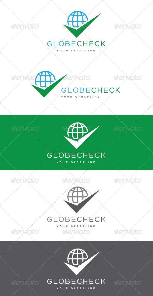 GraphicRiver Globe Check Logo 8465166