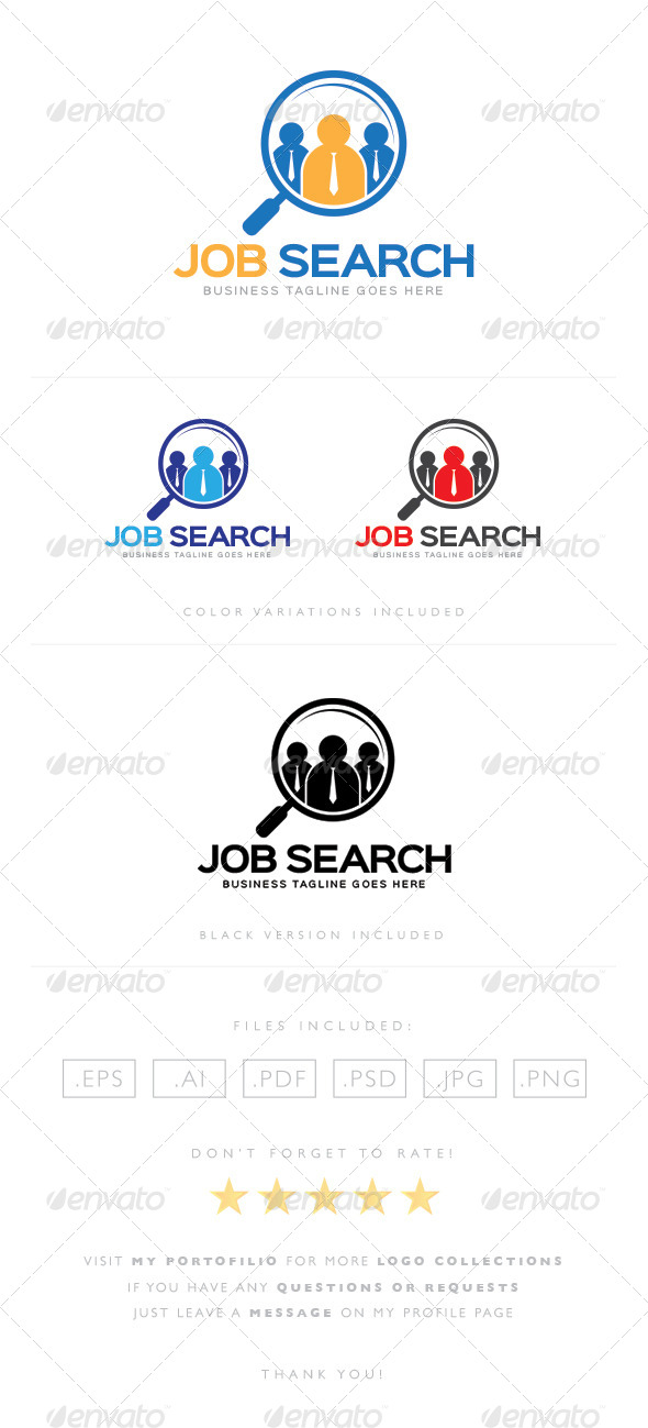GraphicRiver Job Search Logo 8465214