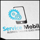 Service Mobile Logo - GraphicRiver Item for Sale