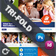 School Book Tri-Fold Templates - GraphicRiver Item for Sale