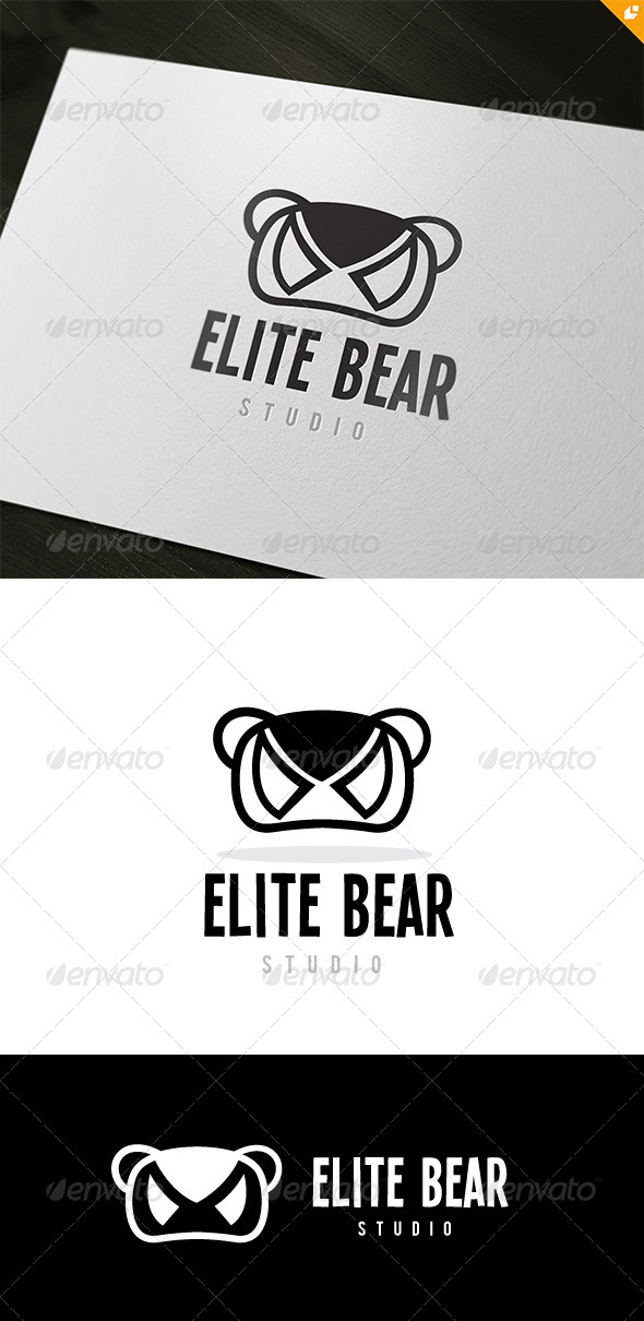 GraphicRiver Elite Bear 8465243