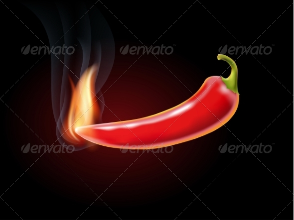 GraphicRiver Red Pepper 8465293