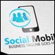 Social Mobile Logo - GraphicRiver Item for Sale