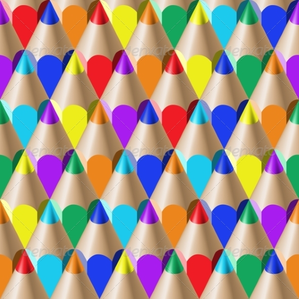 GraphicRiver Color Pencil Pattern 8465366