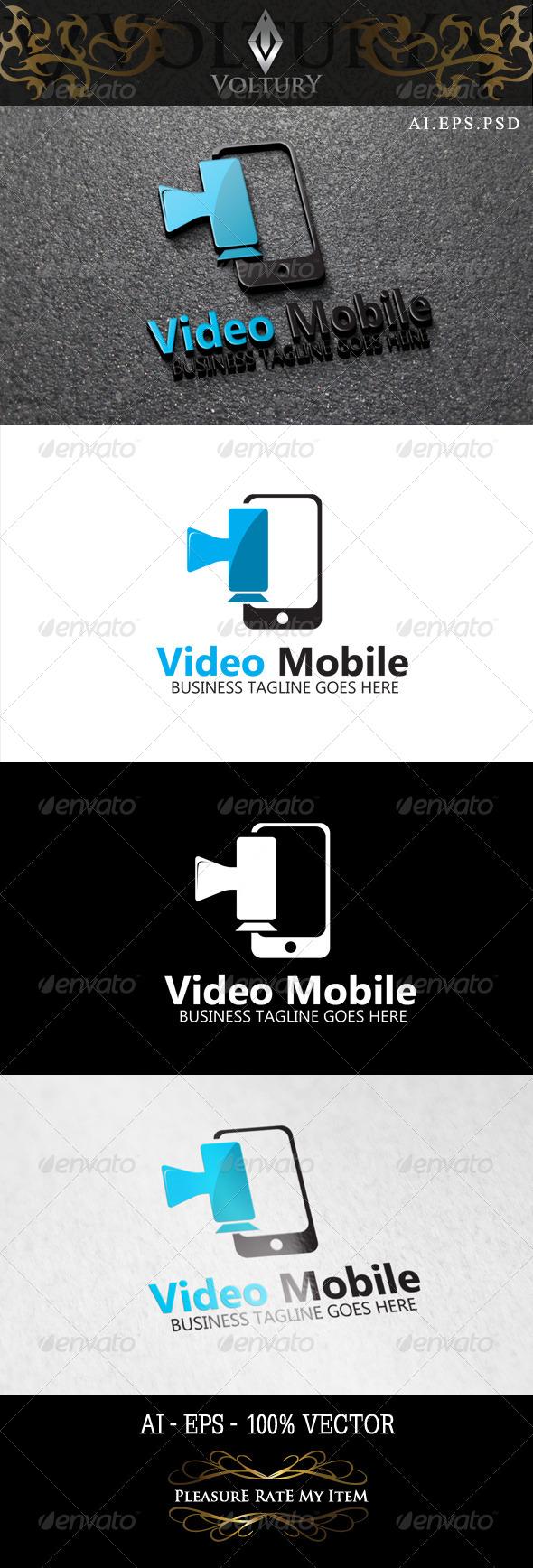 GraphicRiver Video Mobile Logo 8465367