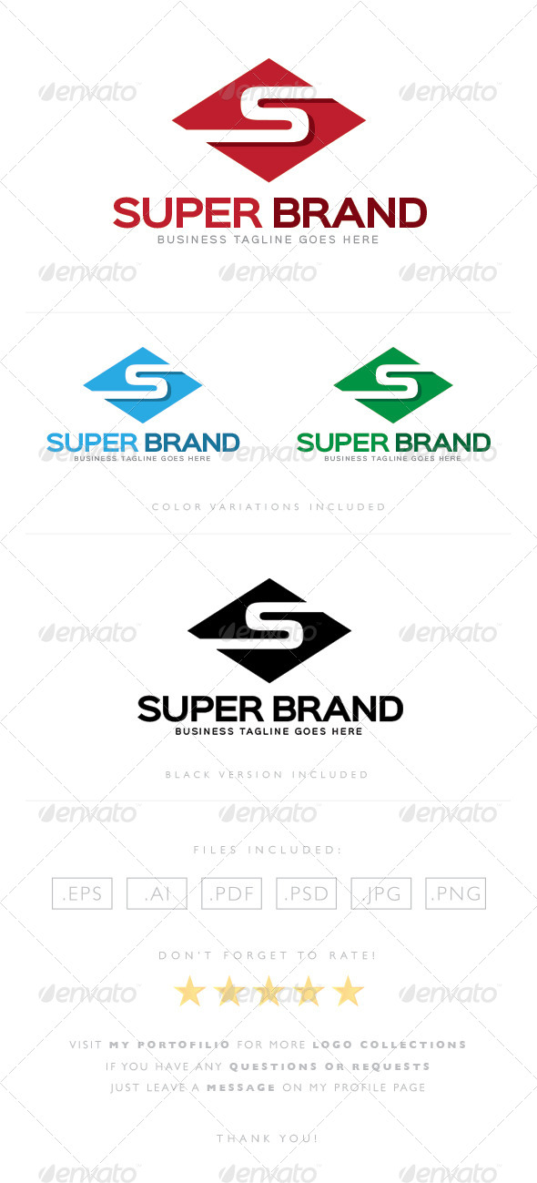 GraphicRiver Super Brand Logo 8465430