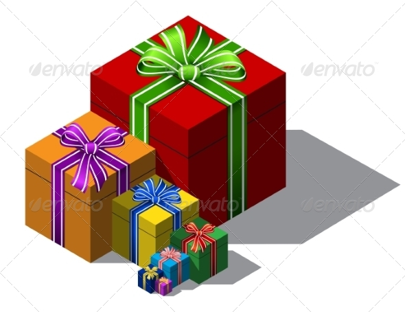GraphicRiver Gift Boxes 8465445