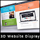 3D Website Presentation Mockup - GraphicRiver Item for Sale