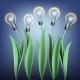 Lamp Bulb Tulips - GraphicRiver Item for Sale