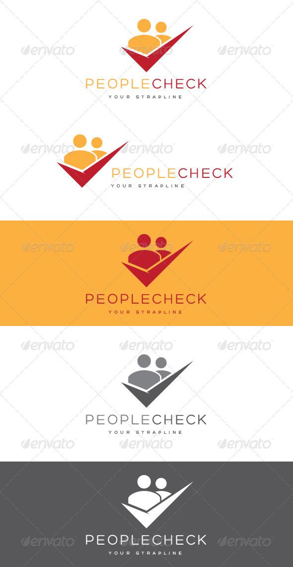 GraphicRiver People Check Logo 8465698