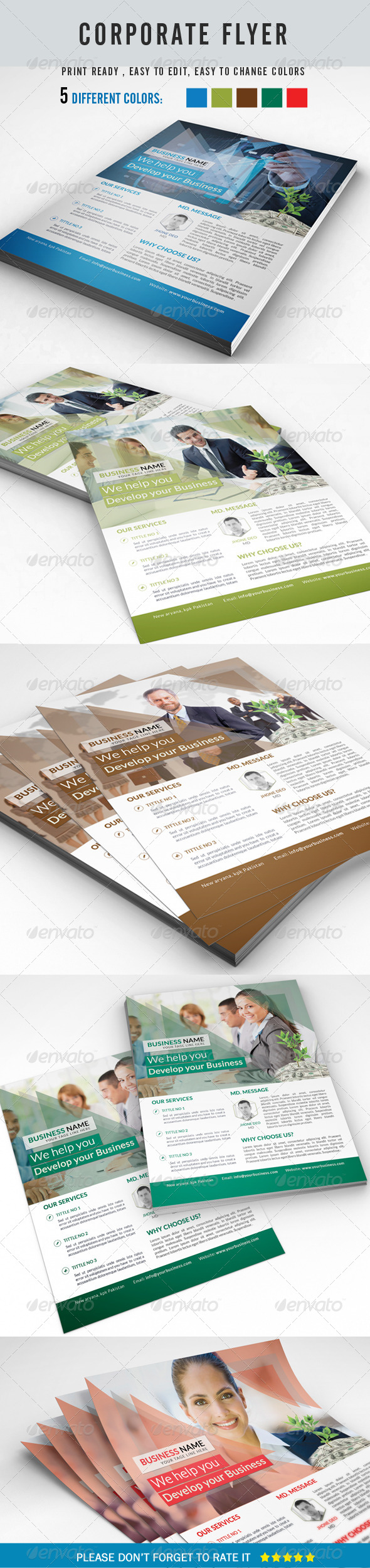 GraphicRiver Corporate Business Flyer 8465722
