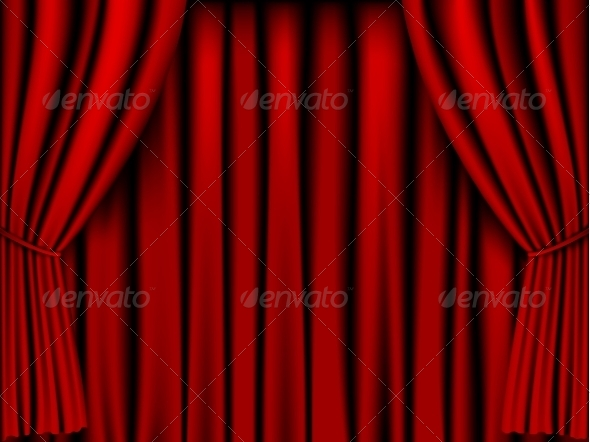 GraphicRiver Red Curtain 8465742