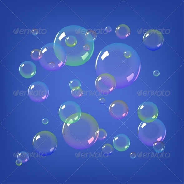 GraphicRiver Soap Bubbles 8465798