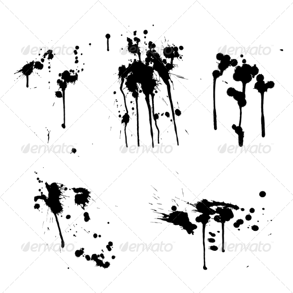 GraphicRiver Ink Splashes 8465833