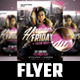 Honey Fridays Flyer Template
