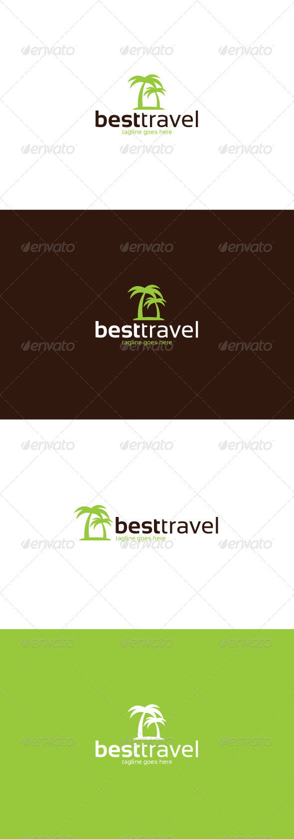 GraphicRiver Best Travel Logo 8466337