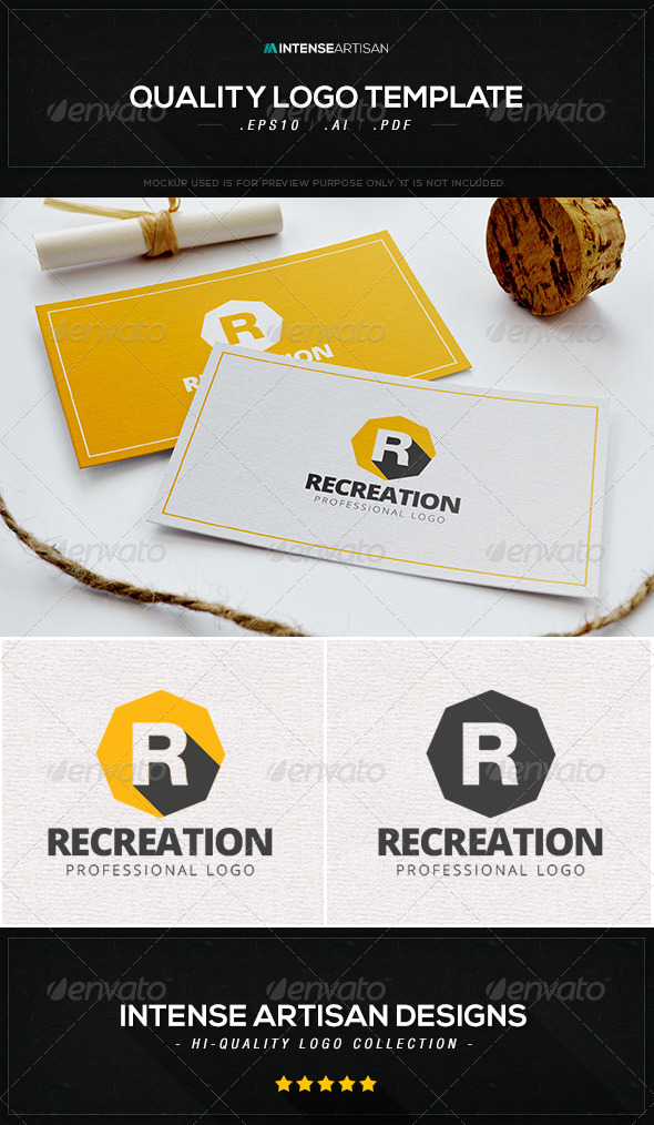 GraphicRiver Recreational Logo Template 8466347