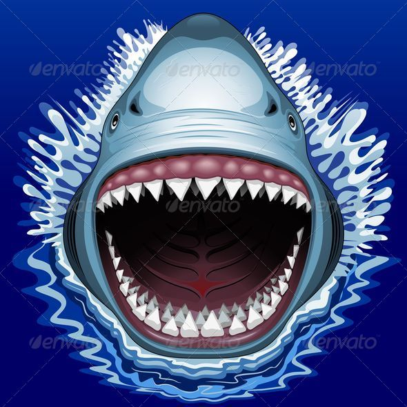 GraphicRiver Shark Jaws Attack 8466407