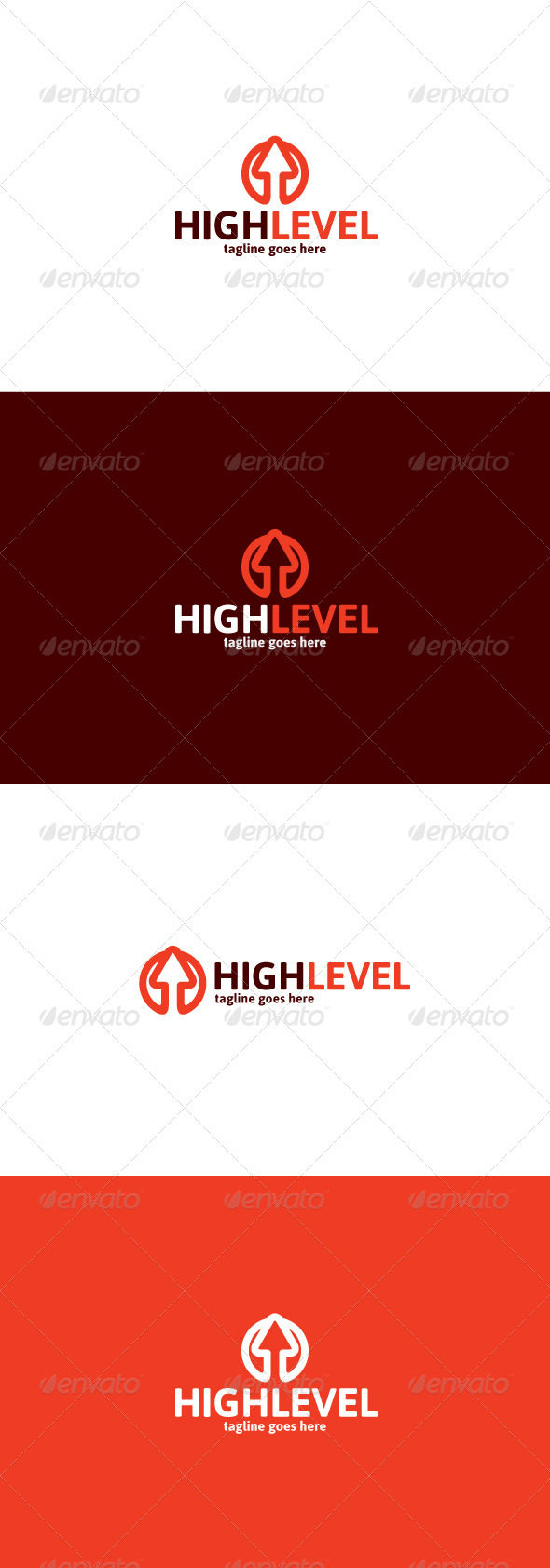 GraphicRiver High Level Logo 8466911