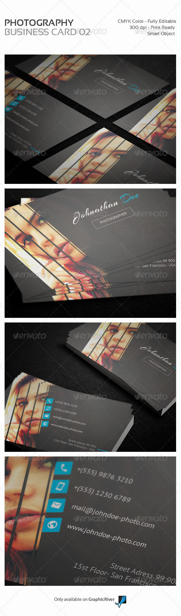 GraphicRiver Photography Personal Business Card 02 8466935
