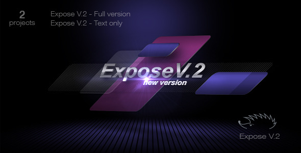 After Effects Project - VideoHive Expose V.2 860301