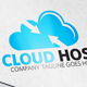 Cloud Host Logo - GraphicRiver Item for Sale