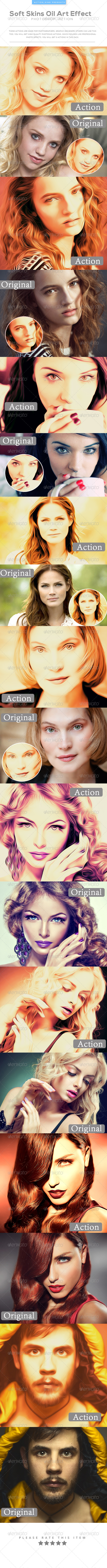 GraphicRiver Soft Skins Oil Art Effect 8466969