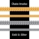 Set of Chains Metal Brushes - Gold and Silver - GraphicRiver Item for Sale