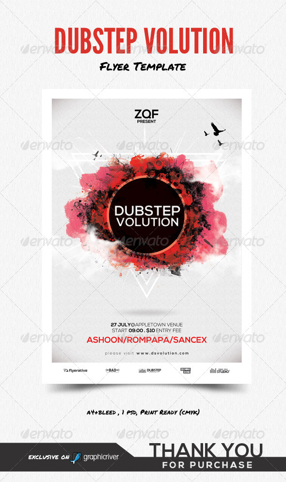 GraphicRiver Dubsteb Volution 8467309