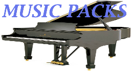Popular Classical Piano MUSIC PACKS