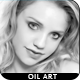Soft Skins Clean B & W Oil Art Effect - GraphicRiver Item for Sale