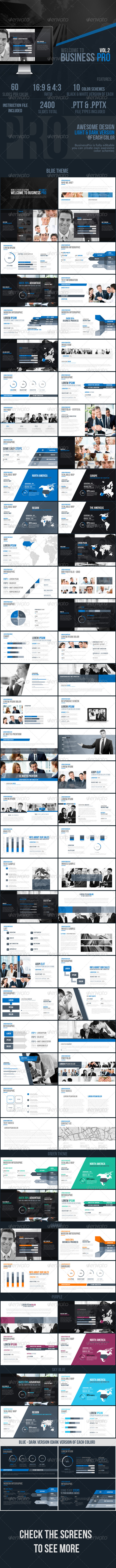 GraphicRiver Business Pro Vol.2 Powerpoint Template 8467817