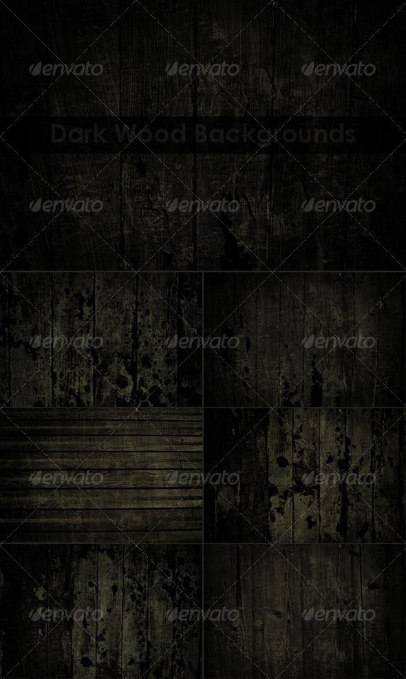 GraphicRiver Dark Wood Textures 8467920