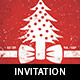 Festive Christmas Invitation Flyer Template - GraphicRiver Item for Sale