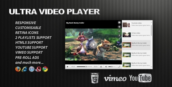CodeCanyon Ultra Video Player 8447546