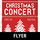 Christmas Concert Flyer Template - GraphicRiver Item for Sale