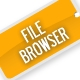 File Browser - ActiveDen Item for Sale