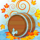 Oktoberfest Beer Keg - GraphicRiver Item for Sale