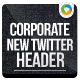 Corporate Services Twitter Header - GraphicRiver Item for Sale