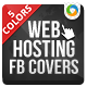 Web Hosting Facebook Cover Pages - GraphicRiver Item for Sale