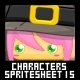 Characters Spritesheet 15 - GraphicRiver Item for Sale