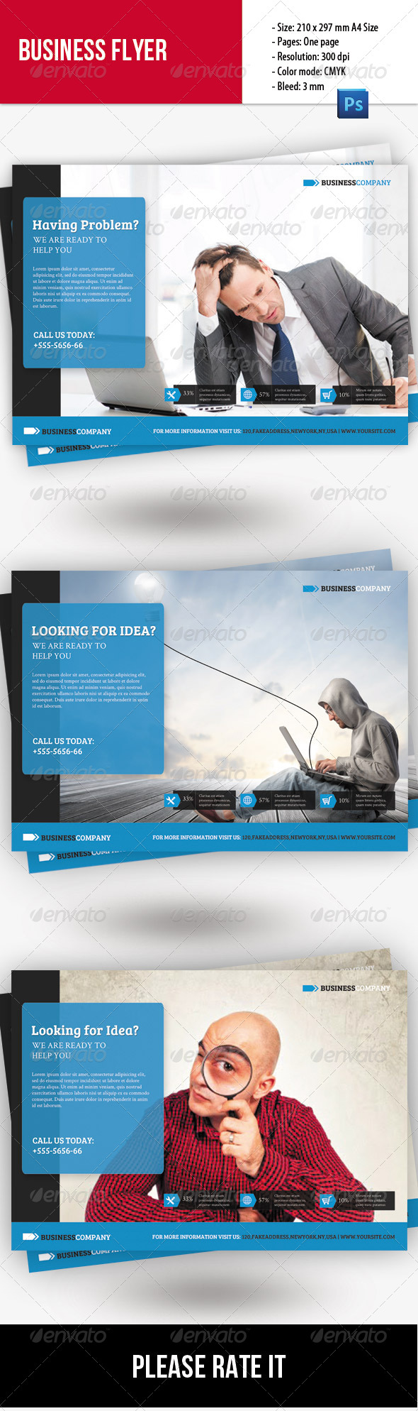 GraphicRiver Creative Business Flyer 8468818