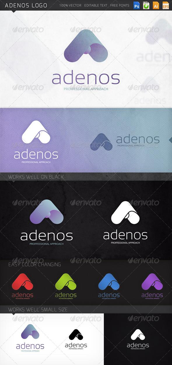 GraphicRiver Adenos Logo 8468829