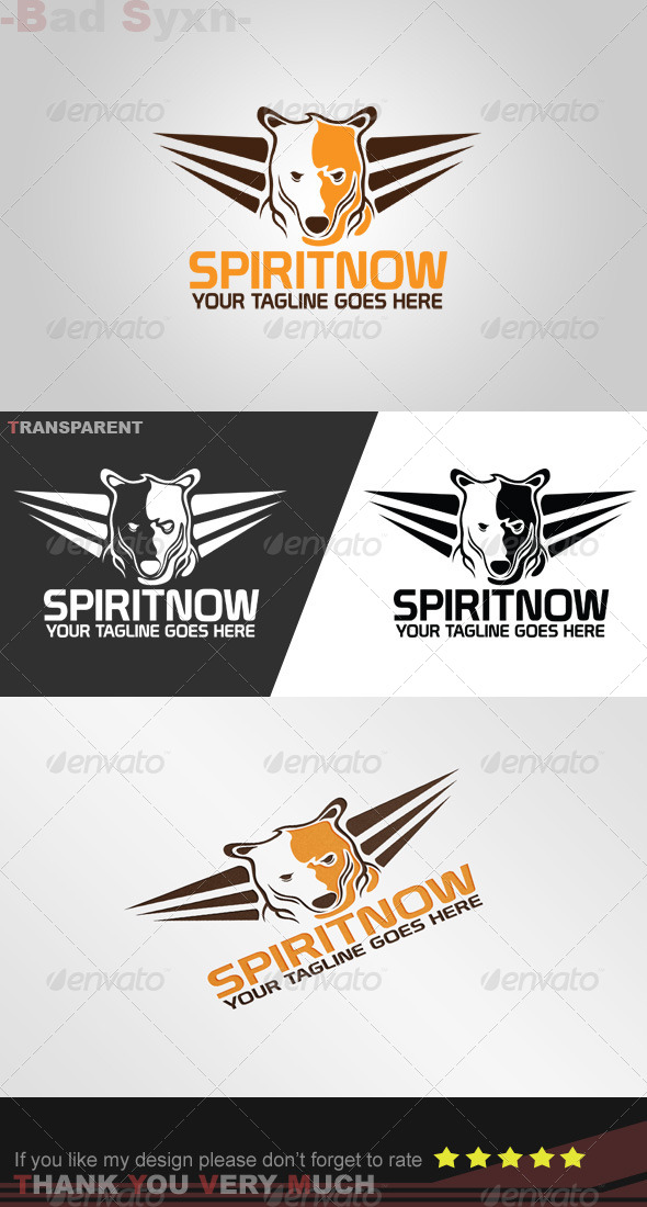 GraphicRiver Wild Bear Logo Template 8447105