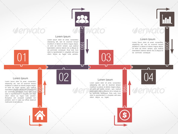 GraphicRiver Puzzle Timeline 8468832