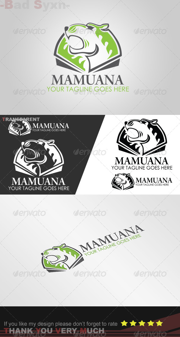 GraphicRiver Mamuana Logo Template 8447110