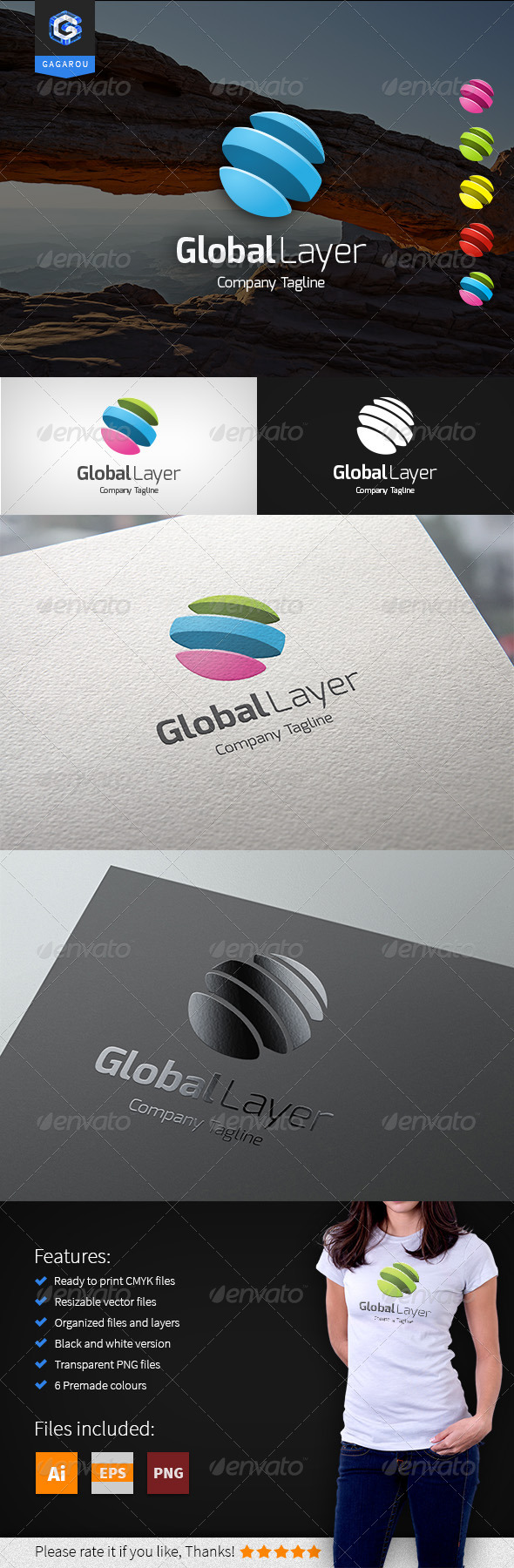 GraphicRiver Global Layer Logo 8468952