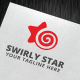 Swirly Star Logo Template - GraphicRiver Item for Sale